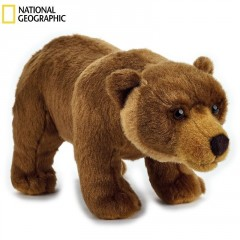 National Geographic plyšák Medvěd Grizzly 27cm