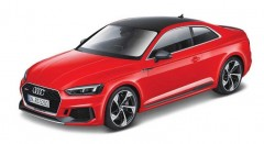 Model Audi RS 5 Coupe, 1:24 červená