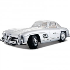 Model Mercedes-Benz 300 SL(1954) Silver 1:18