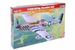 Model letadla P-51D-25 Big Beautiful Doll 1:72