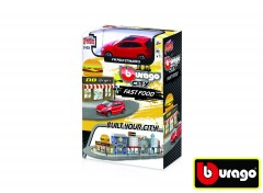 Bburago city 1:43 18-31504 Fast food